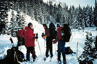 Augustana's Outdoor Pursuits Program -- Experience backcountry telemarking and snow-caving!!!